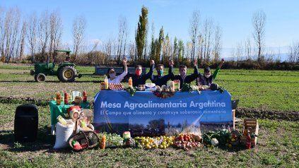 El otro campo. Los referentes de la nueva Mesa Agroalimentaria Argentina. realizaron su presentación.