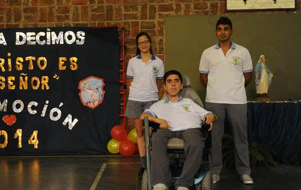 Emiliano padece de atrofia muscular espinal II. (F.Guillén)