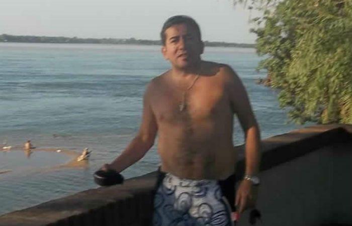 Trágico. El profesor Orlando Vallejos fue golpeado y ahorcado con una manguera.