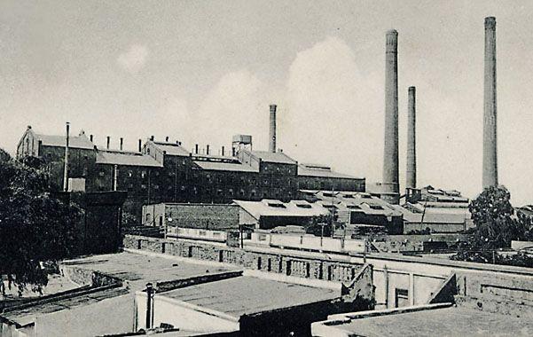 La antigua refinería de azúcar