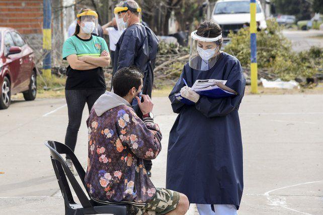 Nuevo operativo del Plan Detectar en barrio Ludueña por coronavirus