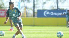 Rafael Sangiovani juega donde el Kily lo ponga. Ya lo hizo de lateral y de volante central pese a ser volante derecho.