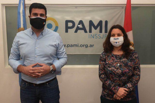 El diputado nacional Marcos Cler y Yanina Muratore