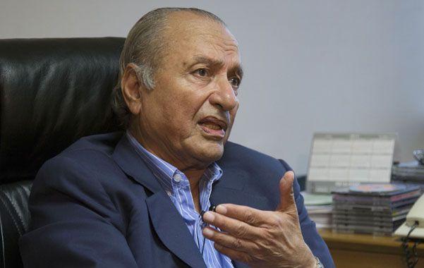Nostalgia. Ex senador Menem. (NA)