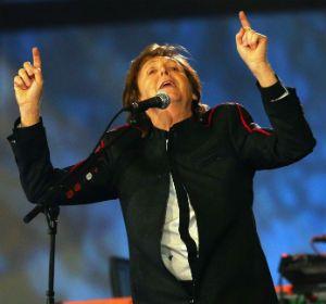 Paul McCartney brilló en la apertura de los Juegos