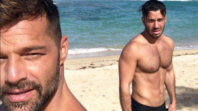 Jwan Yosef, el esposo de Ricky Martin, llegó por sorpresa al país