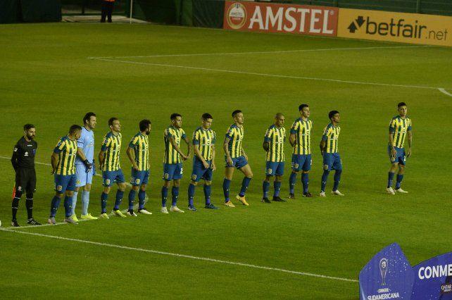 Central logró su mejor versión en la Copa Sudamericana.