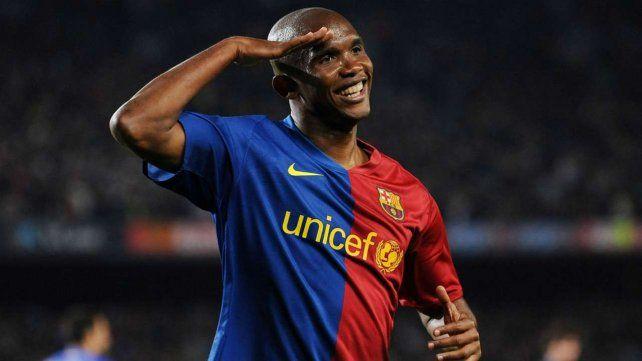 Samuel Etoo propone a Gallardo para dirigir a Barcelona
