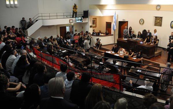 El discurso de Fein fue cuestionado por el arco opositor del Concejo.