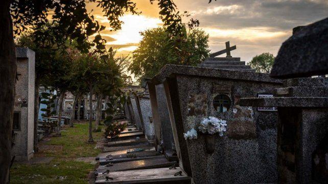 El cementerio de Baigorria creció de manera un tanto anárquica.