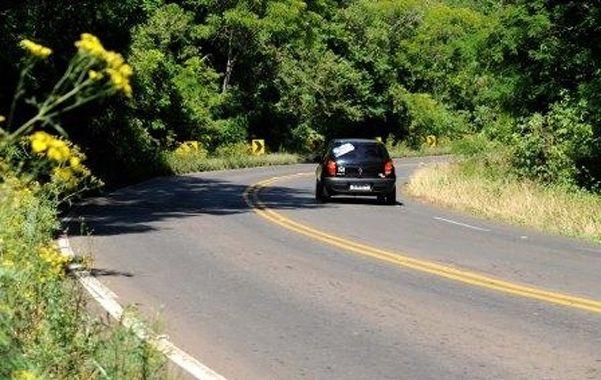La ruta BR 285. Los turistas argentinos fueron atacados anteayer en una Renault Duster