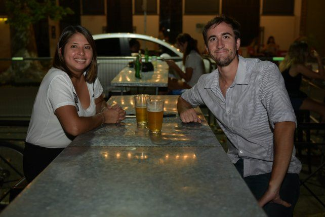 Fanny Rodriguez Salas y Julián Rivoira