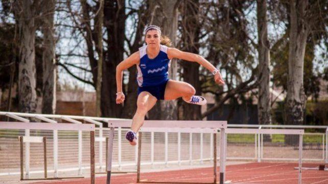 Valentina Sánchez, al Sudamericano Indoor