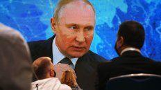 Putin durante su conferencia anual de prensa en diciembre pasado. Planea seguir al frente del país sin fecha límite.