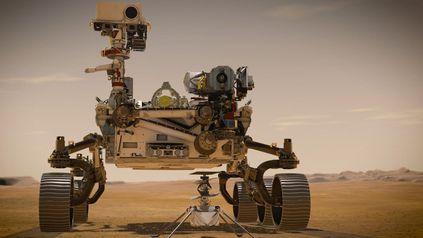 Rover de la NASA recolectó dos rocas con indicios de condiciones favorable de vida en Marte