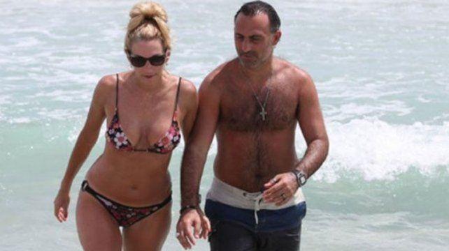 Las necesarias vacaciones de Diego y Yanina Latorre en Miami