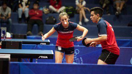La pareja de Horacio Cifuentes y Camila Argüelles luchará por la plaza en dobles mixto.