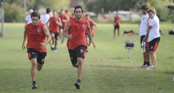Newells: El Kichu Díaz asoma con más chances de reemplazar a Pablo Pérez ante Boca