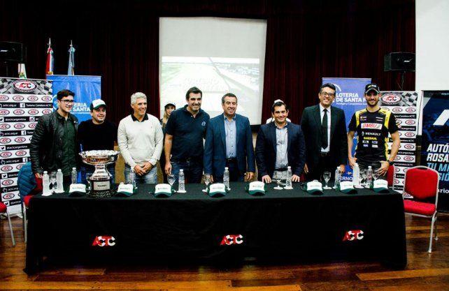 Quedó presentada formalmente la histórica carrera de Turismo Carretera que albergará Rosario