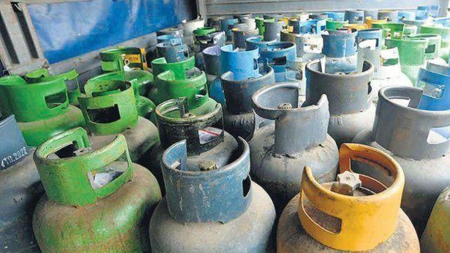 El consumo de gas envasado tiene una alta demanda en distintas localidades santafesinas.