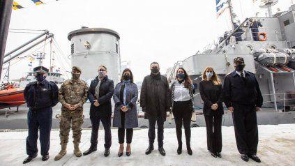 La campaña de este año se inició en el Apostadero Naval de Buenos Aires de la Armada.