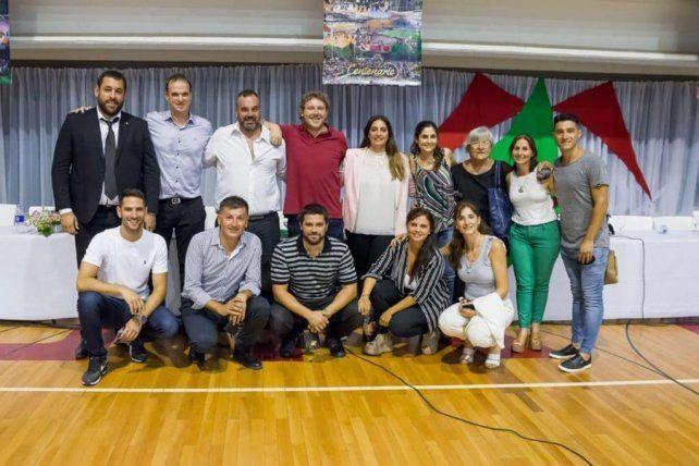 Sportivo Las Parejas, los jóvenes que asumieron en la directiva del club