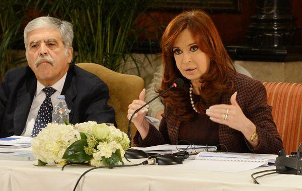 La presidenta Cristina Fernández de Kirchner se reunió con directivos de 30 empresas líderes chinas.