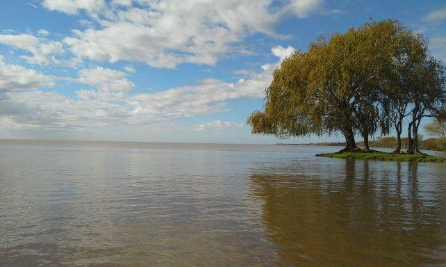 Uno de los paisajes inolvidables del Paraná.