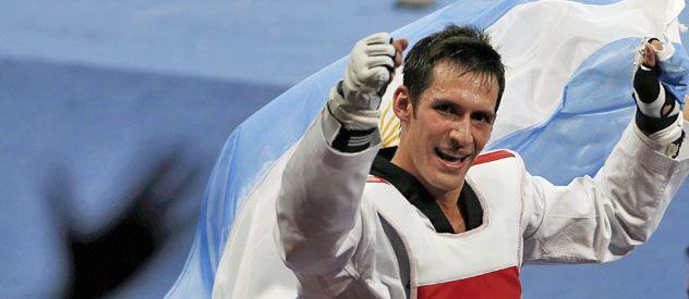 El correntino le dio una medalla dorada individual al país después de 64 años.