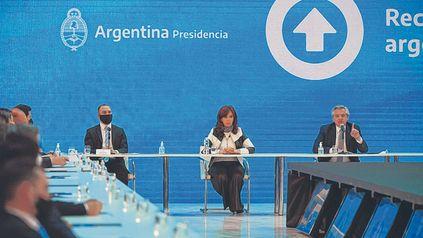 Tensión. Guzmán, Cristina y Alberto, en tiempos de mayor calma.