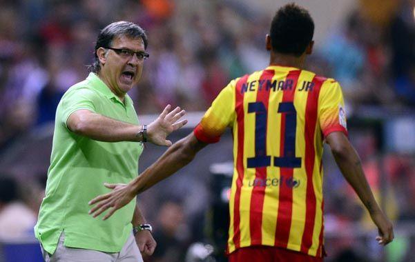 Neymar ingresó en el segundo tiempo y a los 66 minutos marcó el tanto de la importante igualdad.