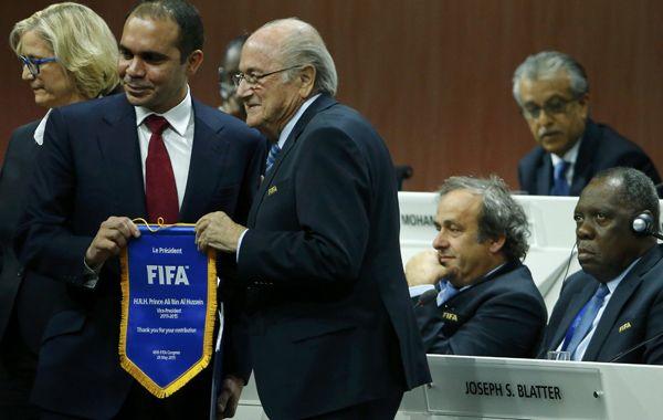 Joseph Blatter y el único competidor del suizo