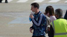 Messi, un viaje relámpago a Buenos Aires y la suspensión de su viaje de vacaciones
