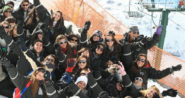 El turismo estudiantil en Bariloche por ahora no se modificó por la lluvia de cenizas