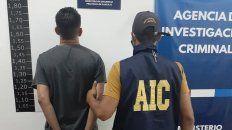 El presunto responsable del grave siniestro fue detenido en un comercio del microcentro de Rosario.