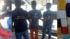 Detuvieron a un empleado de la municipalidad de Paraná robando combustible en bidones