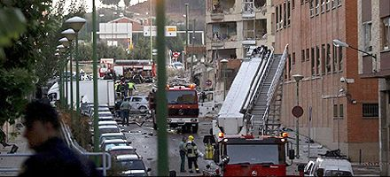 Un coche bomba de ETA causó más de 50 heridos en España