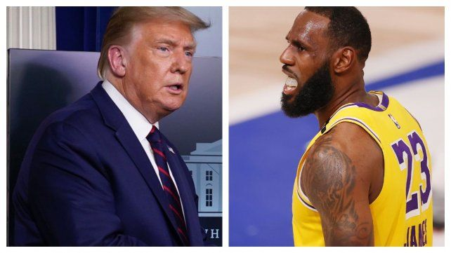 Trump acusó a la NBA de convertirse en una organización política