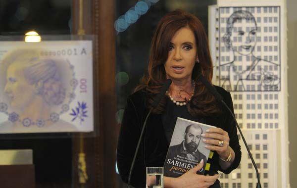 La presidenta Cristina Kirchner.