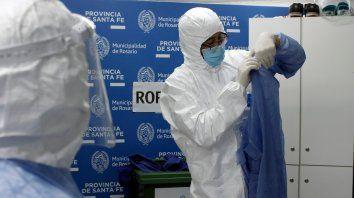 El índice de contagios sigue en franco ascenso en Rosario.
