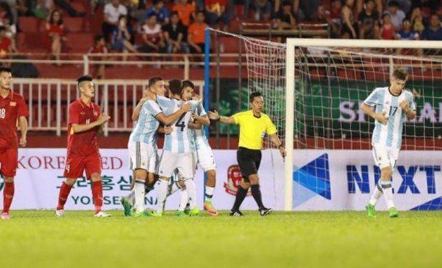 El Sub 20 suma goles a su ilusión para el Mundial de Corea del Sur.
