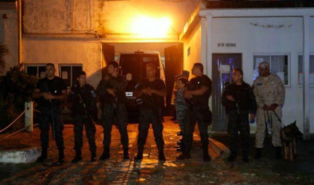Los diez rugbiers acusados de matar a Fernando Báez Sosa quedron detenidos en la Unidad Penitenciara 6 de Dolores.