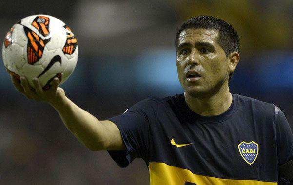 El regreso. Juan Román Riquelme volverá a estar entre los once titulares.