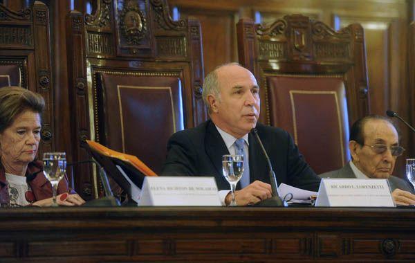 La Corte confirmó a Lorenzetti y a Highton de Nolasco como presidente y vice del tribunal.