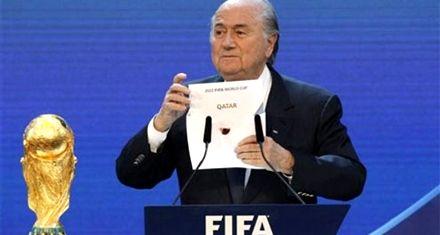 Blatter quiere que el Mundial de Qatar sea en enero para evitar altas temperaturas
