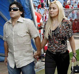 Diego y Verónica Ojeda en otros tiempos.