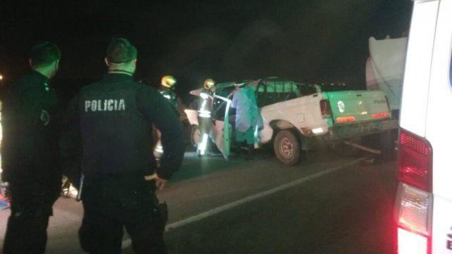 El conductor de la camioneta tenía 42 años y vivía en Roldán.