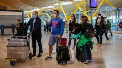 Coronavirus: España impondrá una cuarentena obligatoria para los turistas argentinos