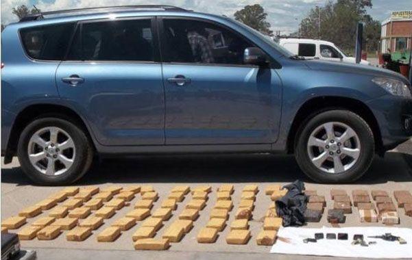 En Salta. Reina Isabel Quevedo fue sorprendida en febrero pasado con 80 kilos de cocaína en su Toyota Rav 4.