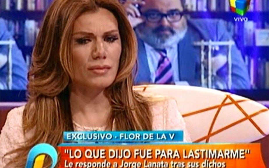 Flor de la V aseguró que en la TV argentina hay mucha gente homofóbica como Lanata